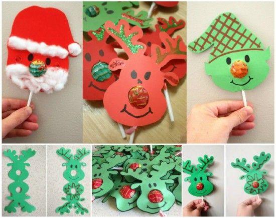 Christmas Lollipop Noses