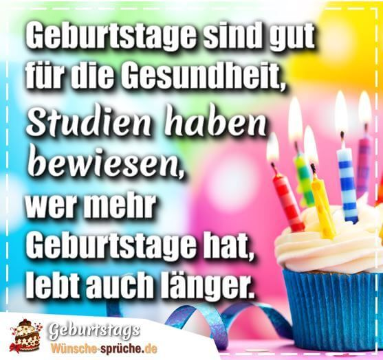 Zum Geburtstag Spruche Und Wunsche Fur Jedes Alter Mit