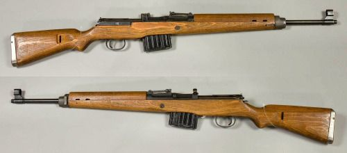 Gewehr 43 from the collections of the Swedish Army Museum.