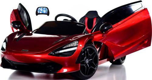 Mclaren 720s 12v Toddler Ride On Car W Remote Control Vertical Doors Red Car Vertical Doors Kids Ride On