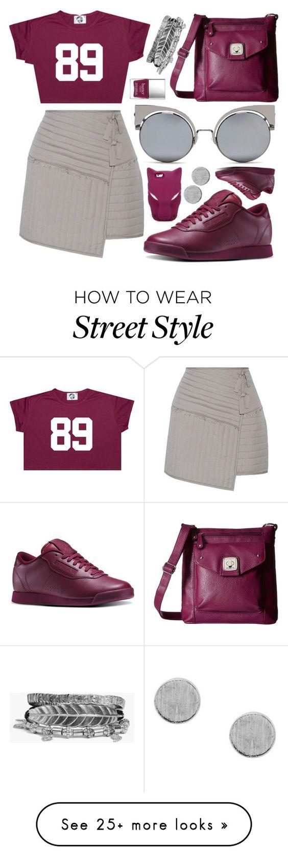 """...sporty street style..."" by sanela-enter on Polyvore featuring TIBI, Reebok, Rosetti, Fendi, STELLA McCARTNEY, Boohoo and Butter London"