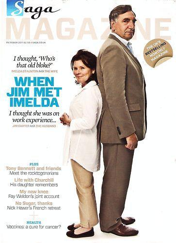 Jim Carter & wife Imelda Staunton | people | Pinterest ...
