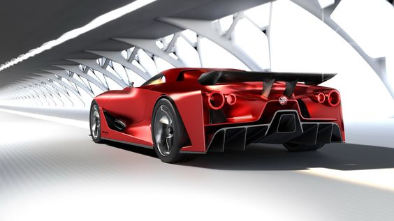 Nissan 2020 Vision Gran Turismo Heading To Tokyo Show In A New Red Shade Carscoops Nissan Gtr Nissan Gt R Nissan Gt