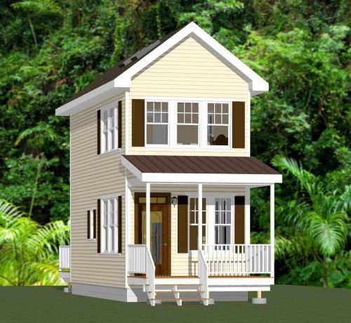12x28 Tiny House 12x28h8a 756 Sq Ft Home