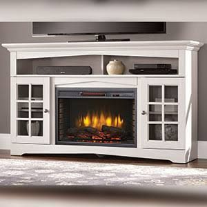 Electric Fireplace Tv Stand Costco Fireplaces Pinterest