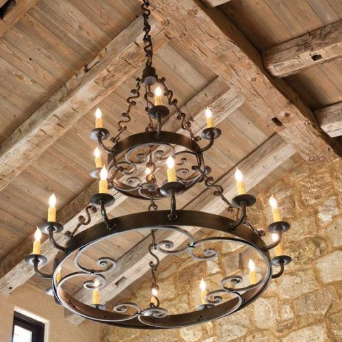 Wrought Iron Lighting Chandeliers Mission Lighting