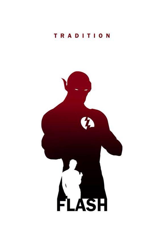 Flash silhouette