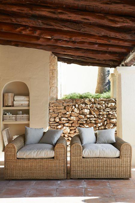 Jakarta Residence rattan Chair, Riviera Maison #rivieramaison #living #outdoor #garden #interior: