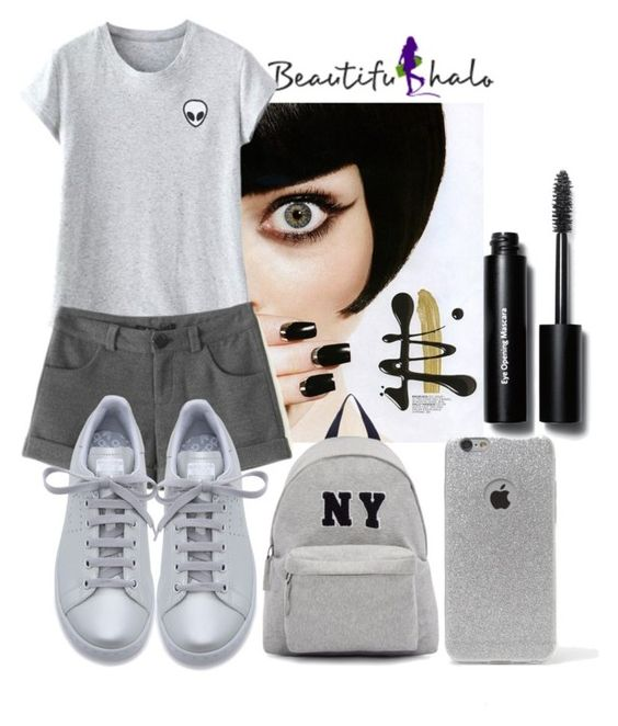 """Beautifulhalo- I/34"" by amilasahbazovic ❤ liked on Polyvore featuring adidas, Joshua's, LA: Hearts, Bobbi Brown Cosmetics, women's clothing, women, female, woman, misses and juniors"