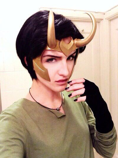 Love this lady, Loki version , small and simple but makes the point
