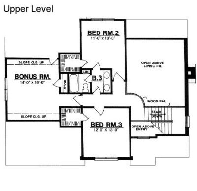 Bonus room bedroom  House design plans and House plans on PinterestDraw My Own Floor Plans   House Plans Home Floor Plans Architectural Designs   Free Funny