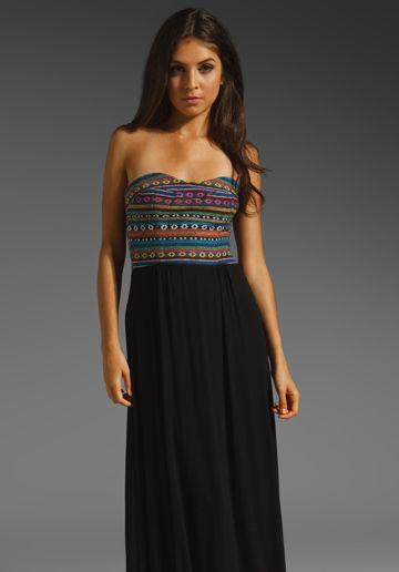 Dolce Vita Maudine Strapless Maxi Dress in Maudine