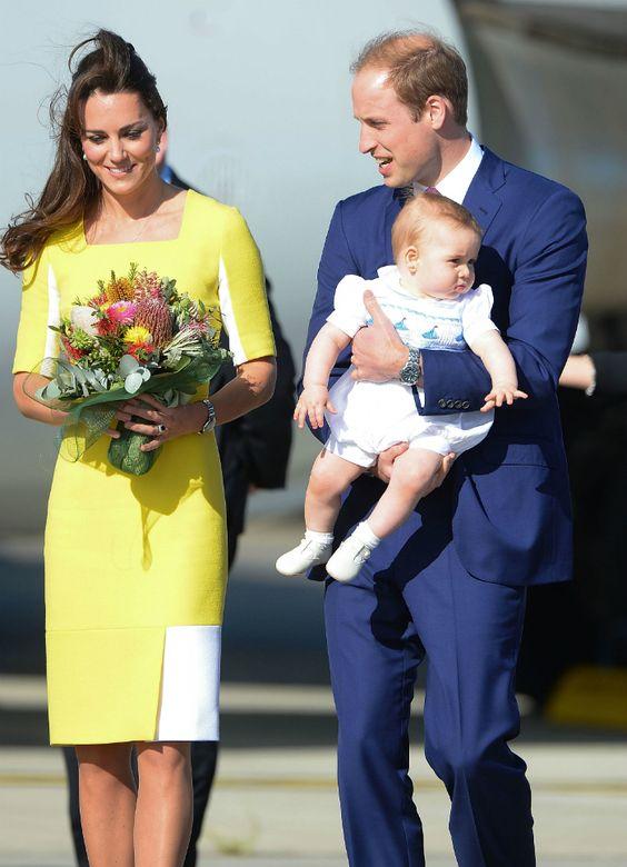 Katalin hercegné banánnak öltözött, Vilmos nem boldog