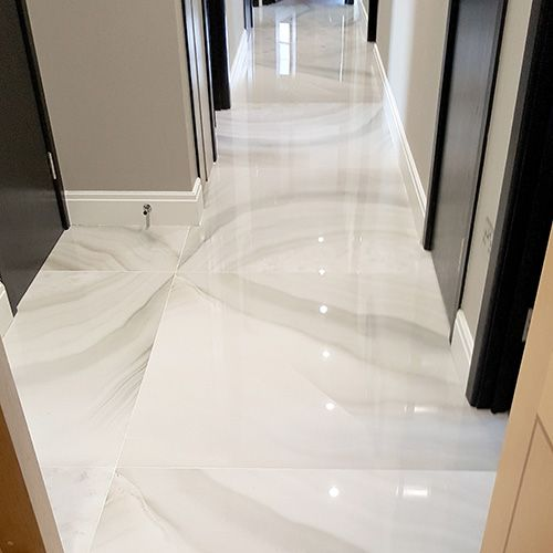 A Luxury Apartment In London With Leviathan Bianco Onyx Effect