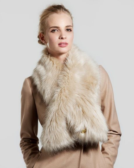 Fake fur is a total must-have in our winter wardrobe. And this scarf from Ted Baker ticks all the right boxes.