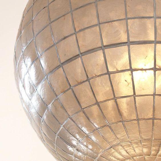 Hanglamp Glazen Bol - Glas - HK Living