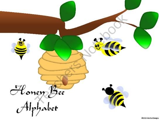 Honey Bee Alphabet