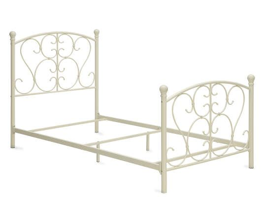 I Found A Scroll Metal Twin Bed At Big Lots For Less Find More At