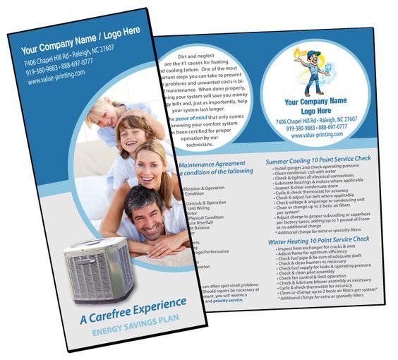 HVAC Extended Service Maintenance Agreement Brochure #1 Value - maintenance agreement