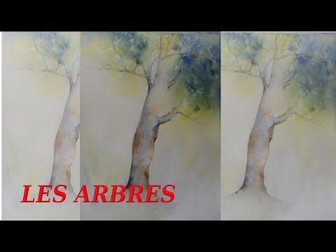 Comment Peindre Un Arbre A L Aquarelle Youtube Comment Peindre
