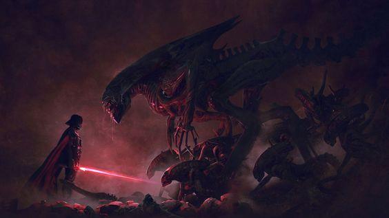 501st Legion: Vader's Fist VS Space Cockroaches  9, Guillem H. Pongiluppi on ArtStation at https://www.artstation.com/artwork/ReOwO