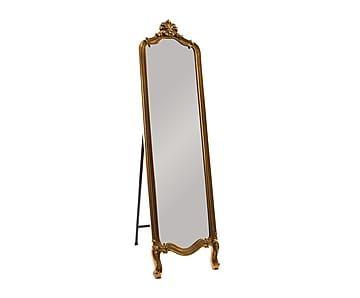 Espejo de pie en madera dm dorado 44x168 cm proyecto - Empanelados de madera ...