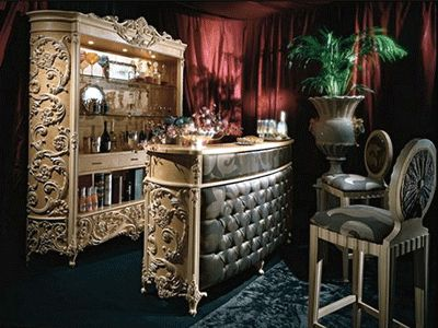 Classy Bar Furniture Design Luxury Wooden Home Bar