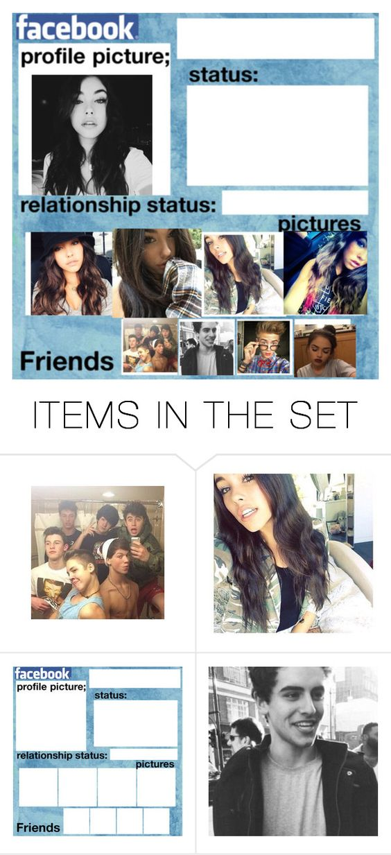 """""""my Facebook for Madison beer"""" by jackgilinsk on Polyvore featuring art"""