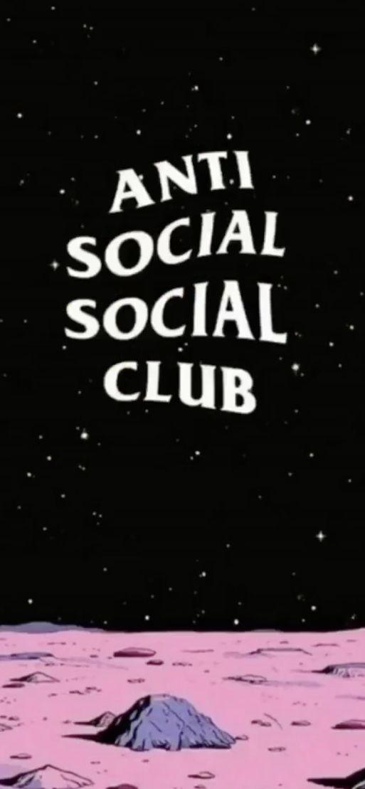 Anti Social Club Wallpaper Hipster Wallpaper Cool Wallpapers For Phones Aesthetic Wallpapers