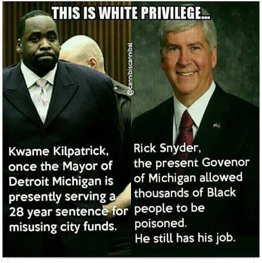 I see far more evidence of black privilege then white privilege. Why don't people talk about that?