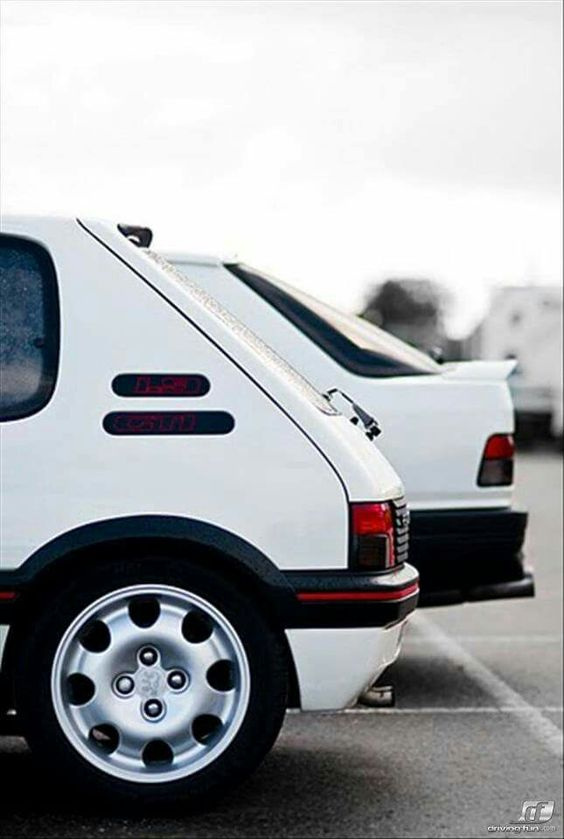 Peugeot GTI, 205 and 309 - when Peugeot could make a decent hot hatch.