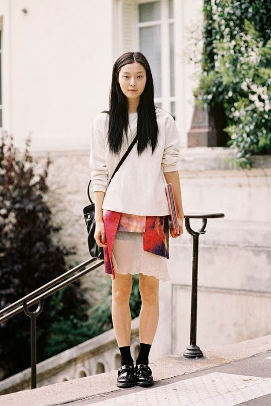 Vanessa Jackman: Paris Fashion Week SS 2014....Sung Hee Kim
