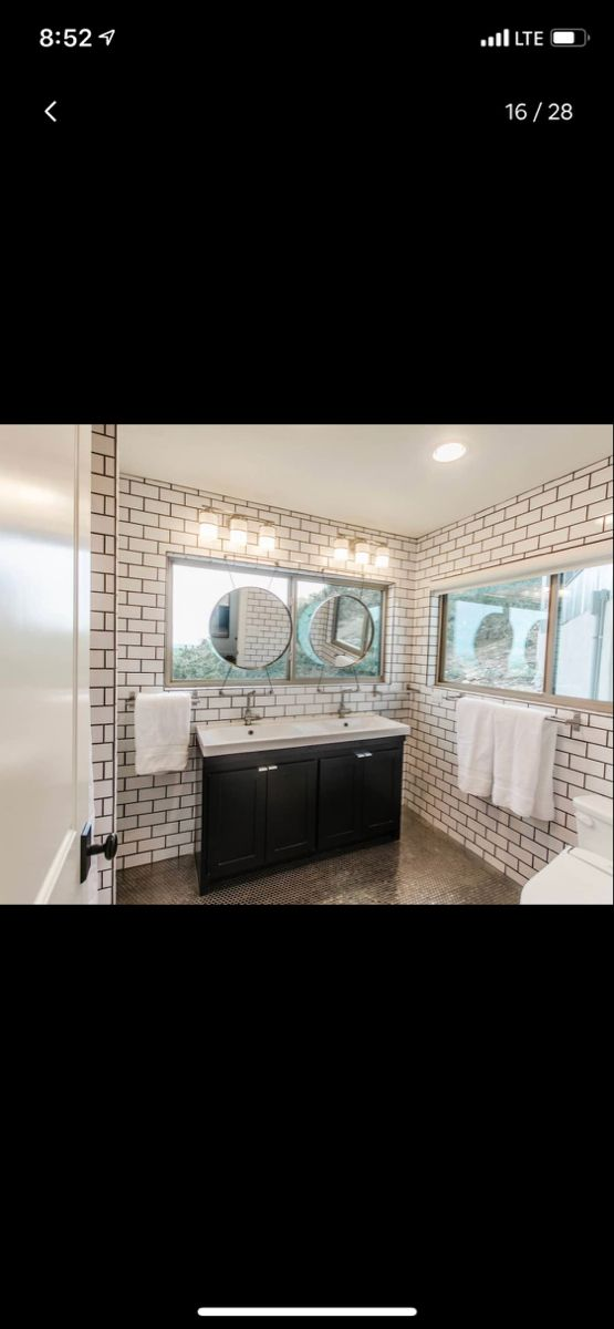 Bathroom With Backlit Mirror With Window Home Home Appliances Backlit Mirror