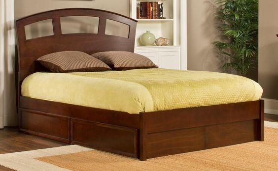 Hillsdale Metro Riva Storage Bed - Cherry Price: $694.00
