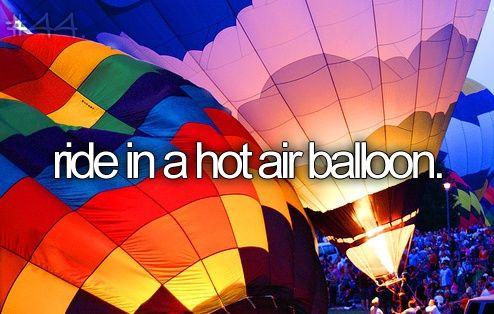 Quien quiere viajar en un globo aerostático!?