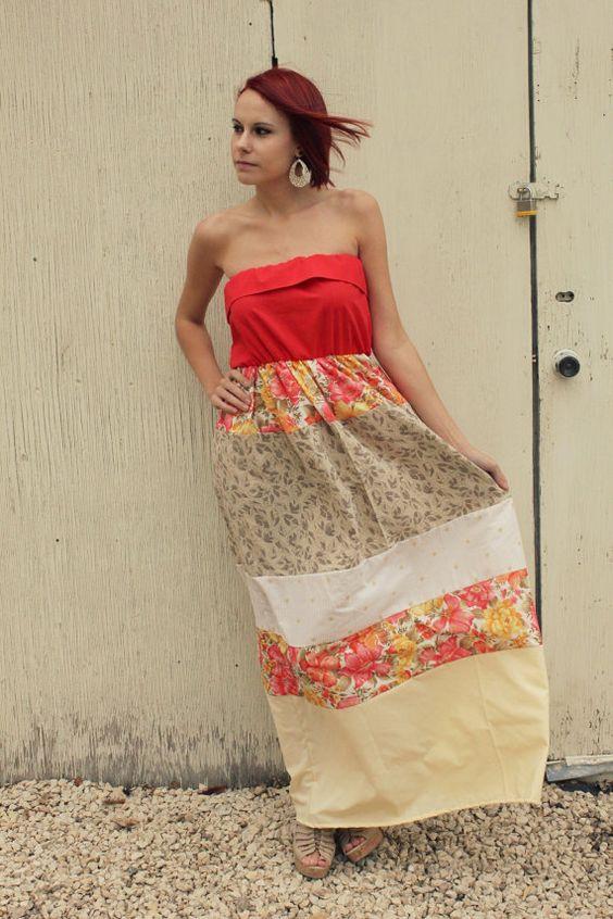 pillow case Maxi dress