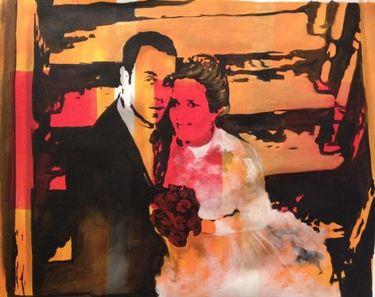 "Offer 100$ Saatchi Online Artist Eka Peradze; Painting, ""Offer.Romance. 70x90cm.#77/7"" #art"