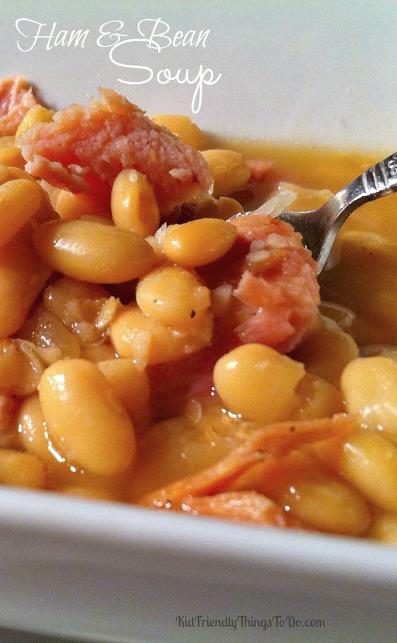 ... beans soup and more ham and beans hams beans ham and bean soup soups