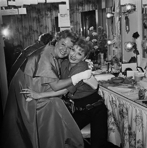 Lucille Ball and Vivian Vance / Did you know that Vivian Vance had a clause in her 'I Love Lucy' contract to stay at least 20 pounds over-weight.