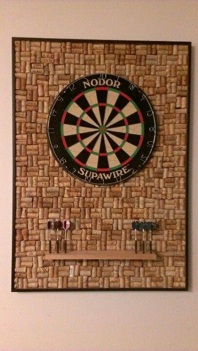 Wine cork dart board #macgrillhalfpricedwine
