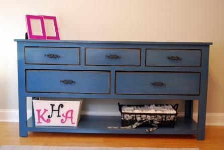 For the Entryway?  DIY Dresser - Free Plans!