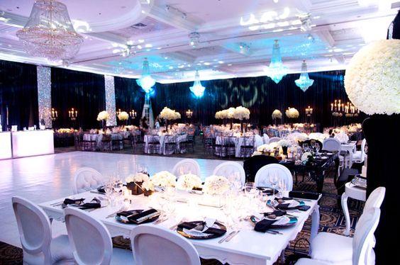 Plaza Volare   Weddings   Reception Hall   Decor   Elegant   Bride   Groom   Montreal