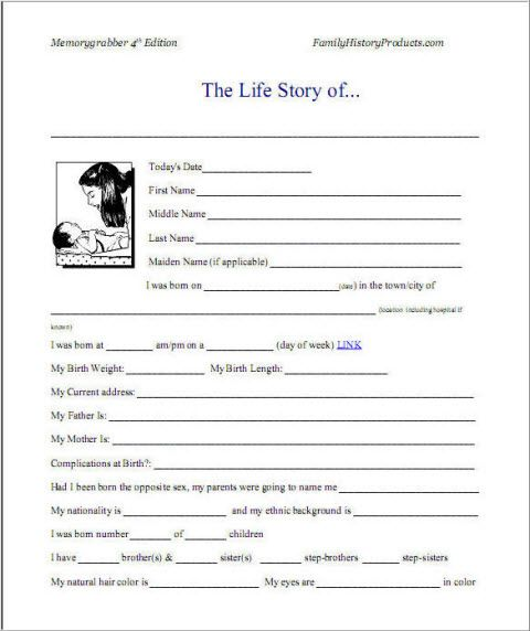 Any tips on how to write a autobiography?