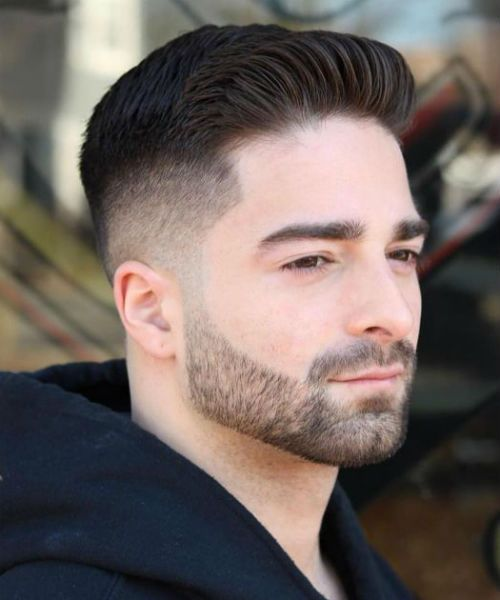 11 Of The Luminous Short Quiff Skin Fade Haircut Styles For Men Kiểu Toc Ngắn Kiểu Toc Cắt Toc