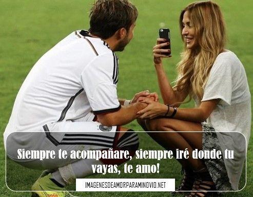 imagenes de futbol con frases para novios  frases de futbol