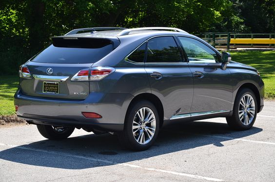 Take a look at this STUNNING new 2013 Lexus RX 350 in new Nebula Gray Pearl over Saddle Leather interior with Espresso Bird's Eye Maple accents.  Pictures don't do it justice!  Visit @MungenastLexus of #StLouis for a test drive. #Lexus #LexusRX #RX350 #SUV http://www.mungenastlexusofstlouis.com/NewModelsPageDetails?model=rx