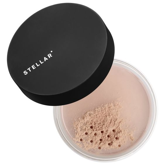 Stellar Peach Perfect Mattifying Setting Powder in Translucent Peach