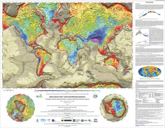 World Gravity Map