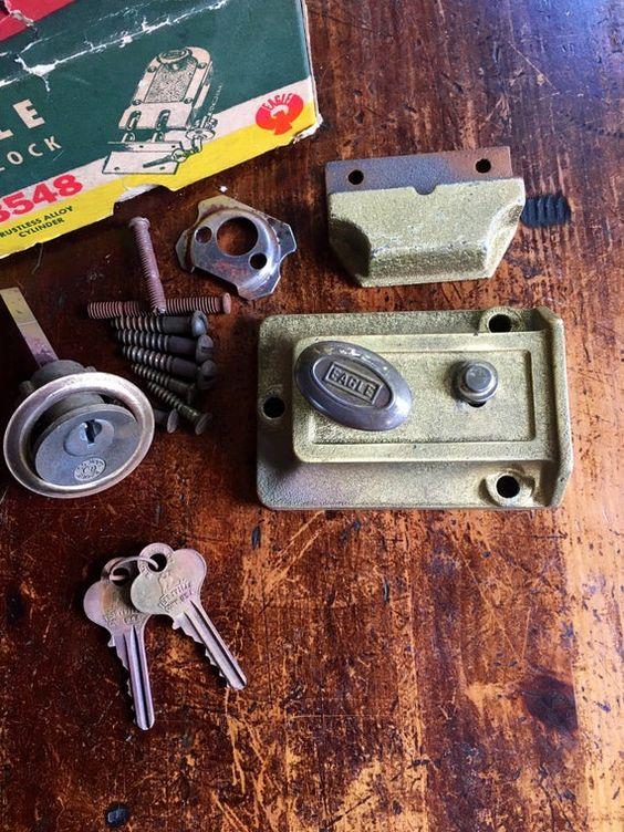 Vintage Eagle Set Lock From 1940 | Etsy