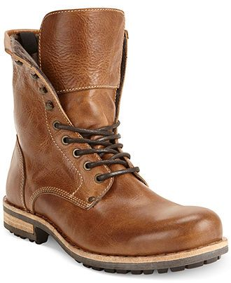 Kenneth Cole Reaction Nail-ed It Lace-Up Boots - All Men's Shoes ...